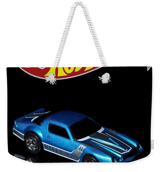 Hot Wheels 67 Pontiac Firebird 400-3 Weekender Tote Bag