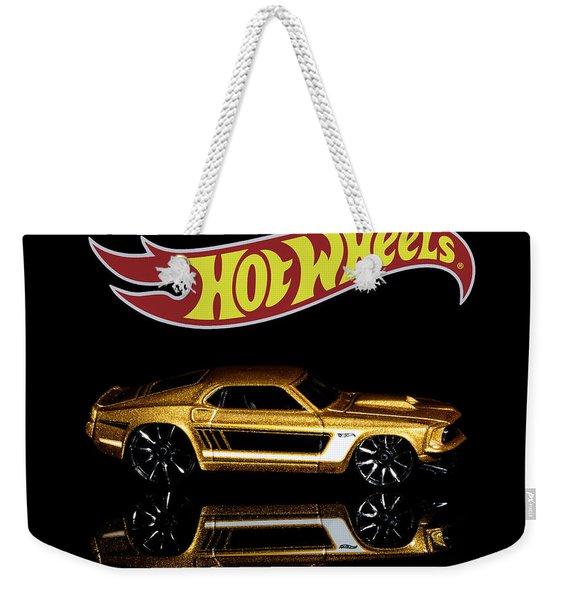 Hot Wheels '69 Ford Mustang Weekender Tote Bag