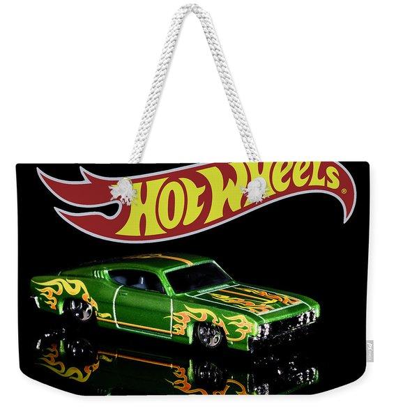 Hot Wheels '69 Ford Torino Talladega Weekender Tote Bag
