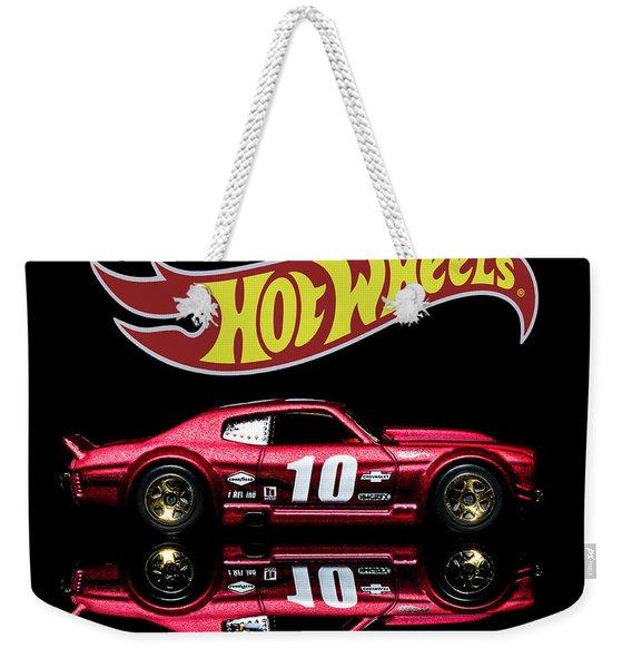 Hot Wheels '70 Chevy Chevelle-1 Weekender Tote Bag