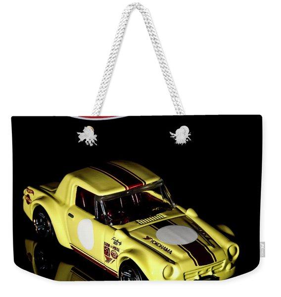 Hot Wheels Datsun Fairlady 2000 Weekender Tote Bag
