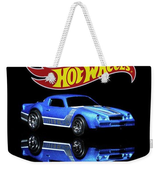 Hot Wheels Gm Camaro Z28 Weekender Tote Bag