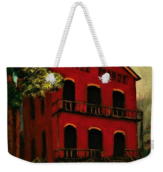 Hotel Meade Bannack Mt  Weekender Tote Bag