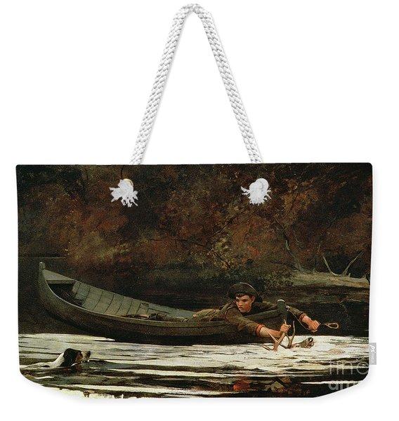 Hound And Hunter Weekender Tote Bag