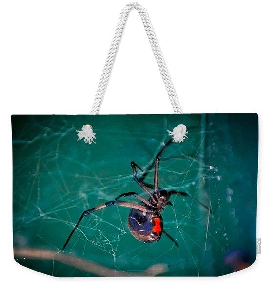 Hour Glass Of Death Weekender Tote Bag