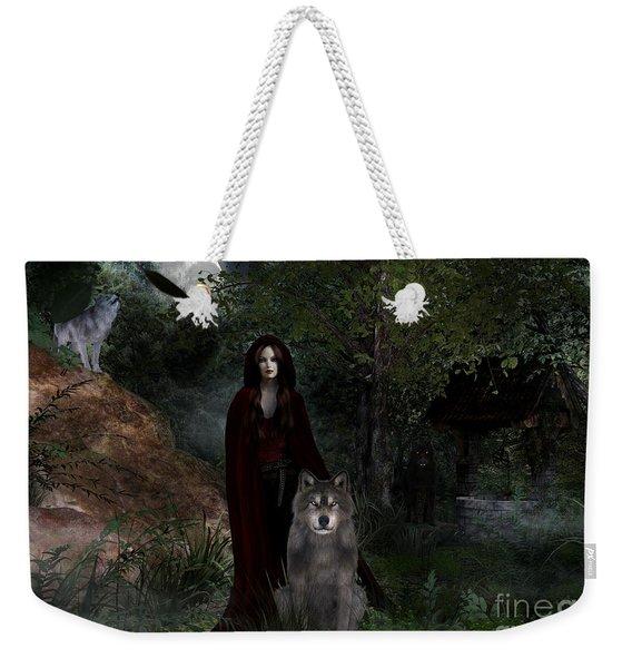 Hour Of The Wolf Weekender Tote Bag