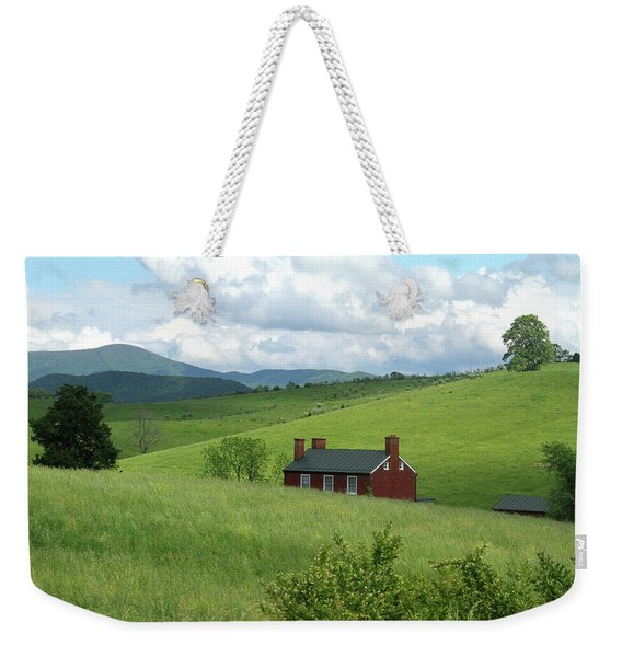 House In The Hills Weekender Tote Bag