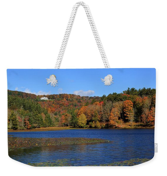 House In The Mountains Weekender Tote Bag