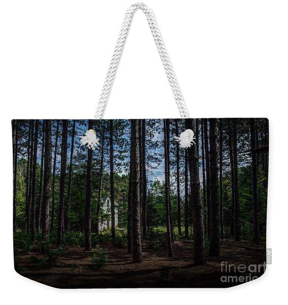 House In The Pines Weekender Tote Bag