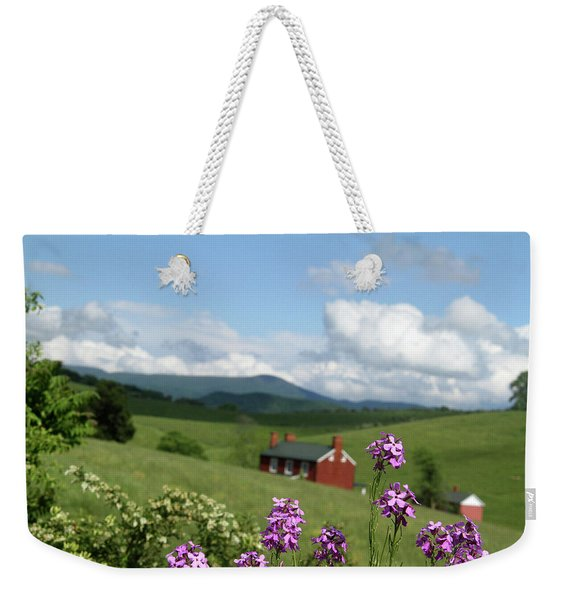 House On Hill In Lexington Weekender Tote Bag