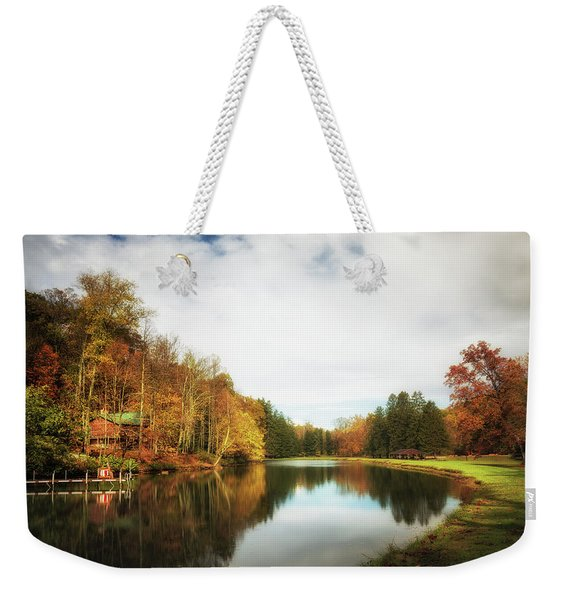 House On The Lake II Weekender Tote Bag