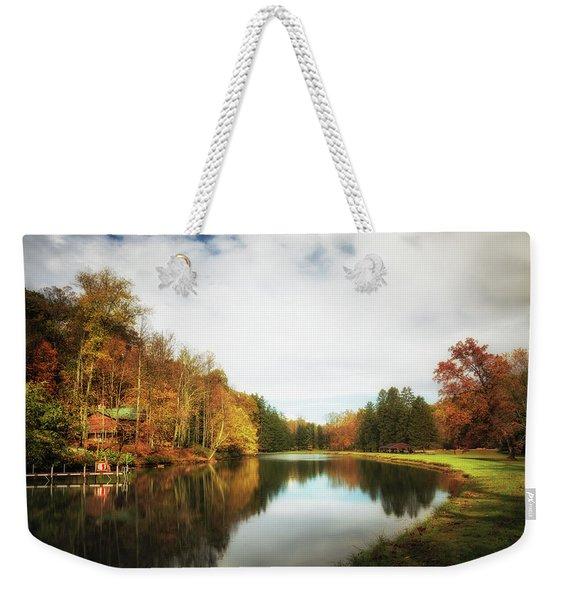 House On The Lake II Weekender Tote Bag