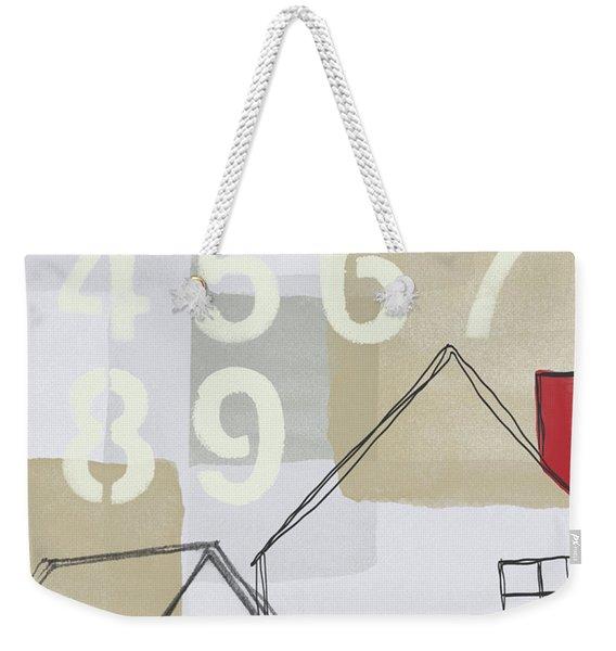 House Plans 3- Art By Linda Woods Weekender Tote Bag