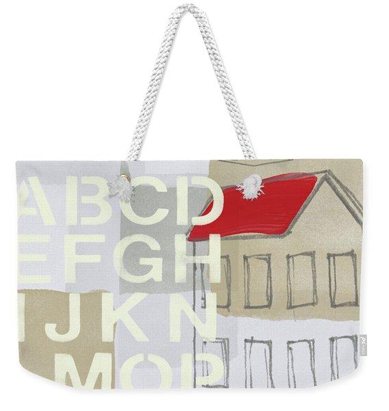 House Plans- Art By Linda Woods Weekender Tote Bag