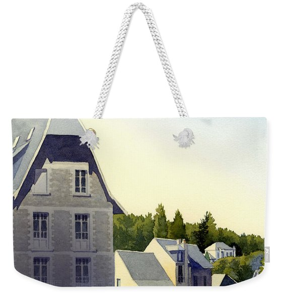 Houses At Murol Weekender Tote Bag