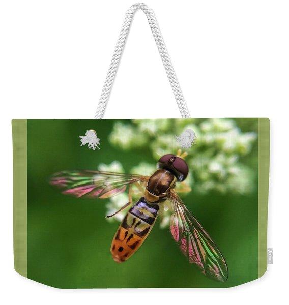 Hover Fly Weekender Tote Bag