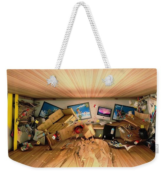 How Long Was I Gone Update Art Abstract Weekender Tote Bag