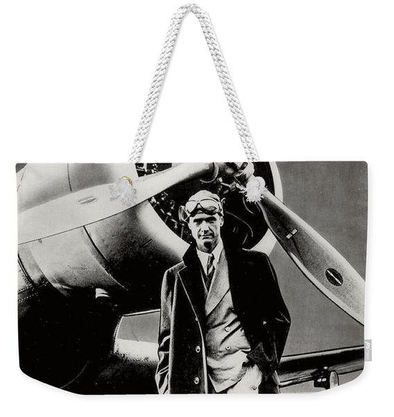 Howard Hughes - American Aviator  Weekender Tote Bag