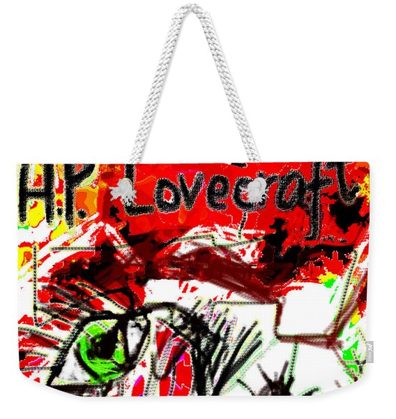 Hp Lovecraft Poster  Weekender Tote Bag