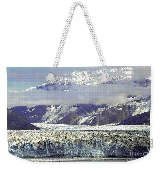 Hubbard Glacier Weekender Tote Bag