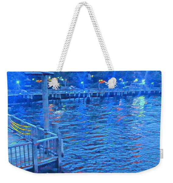 Hudson Electric Weekender Tote Bag