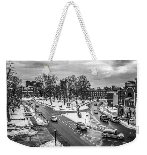 Hudson Falls Business District Weekender Tote Bag