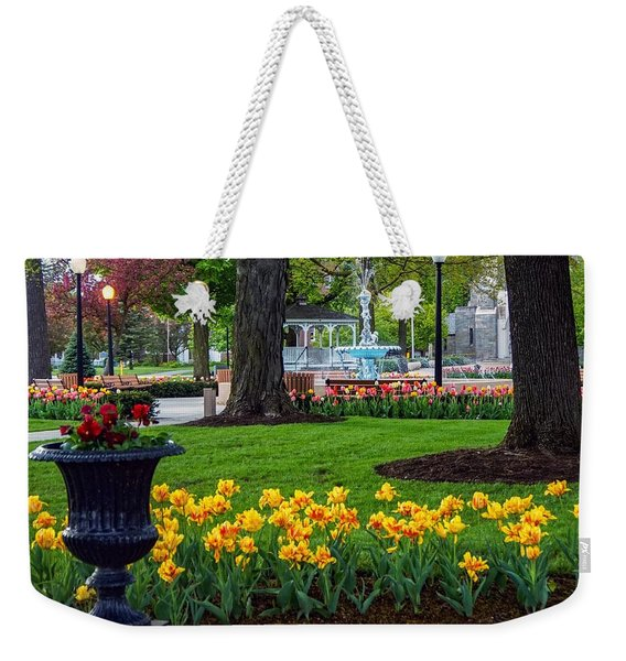 Hudson Falls...a Great Place To Call Home Weekender Tote Bag