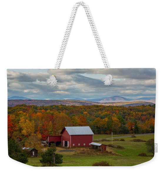 Hudson Valley Ny Fall Colors Weekender Tote Bag