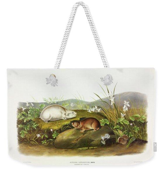 Hudson's Bay Lemming Weekender Tote Bag