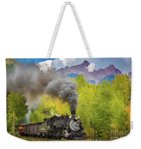 Huffing And Puffing Weekender Tote Bag