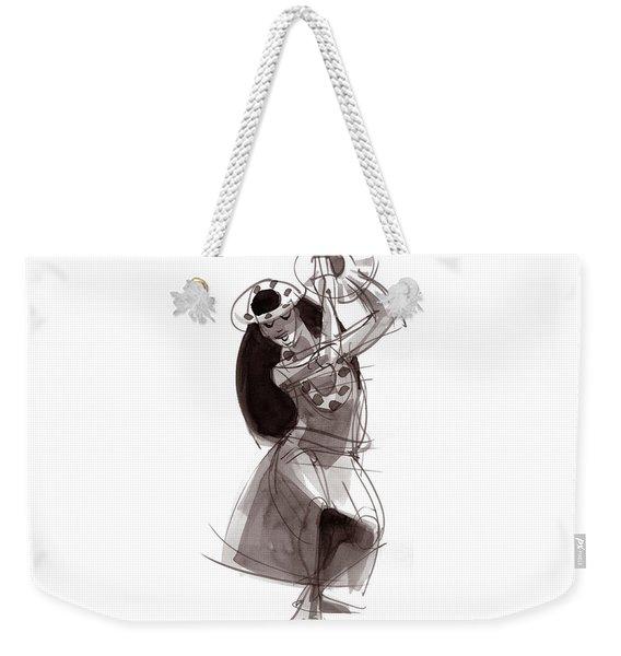 Hula Dancer Alika Weekender Tote Bag
