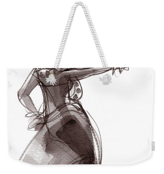 Hula Dancer Keala Weekender Tote Bag