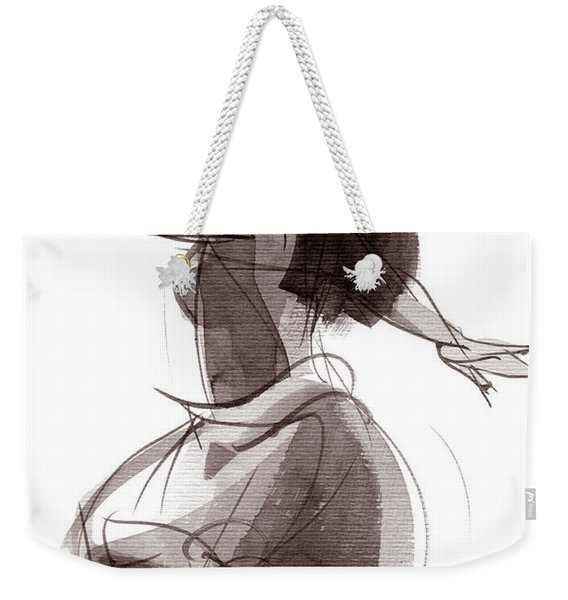 Hula Dancer Olina Weekender Tote Bag