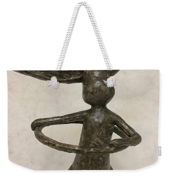 Hula Hooping Weekender Tote Bag