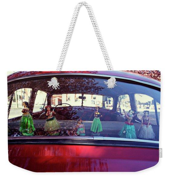 Hula Weekender Tote Bag