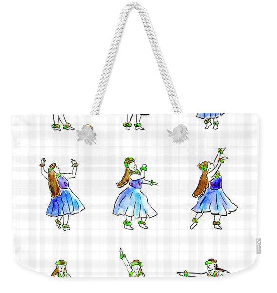 Hula X 9 Weekender Tote Bag