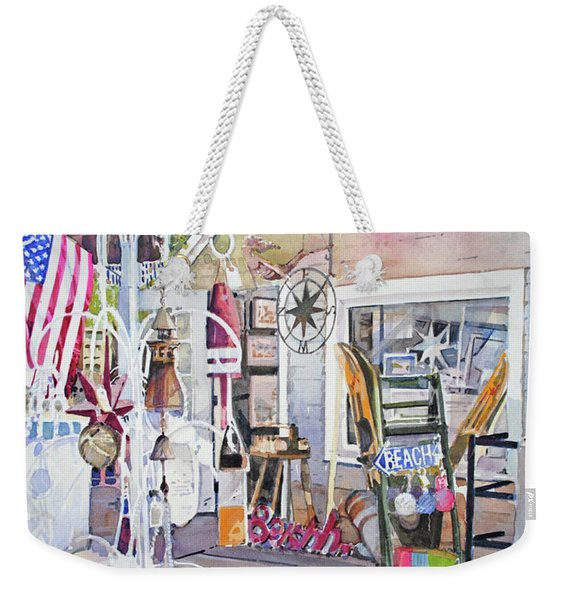 Hull Of A Shoppe Weekender Tote Bag