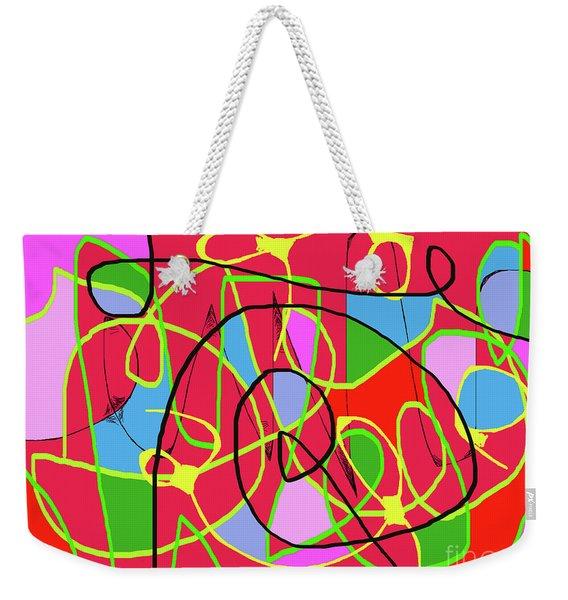 Communication Weekender Tote Bag