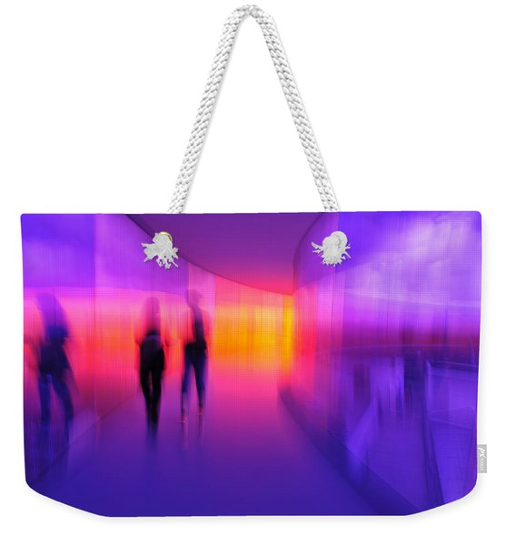 Human Reflections Weekender Tote Bag