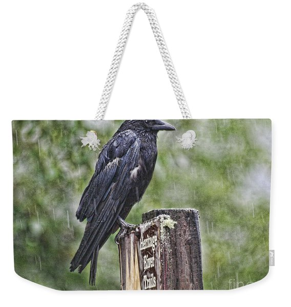 Humbled Crow Weekender Tote Bag