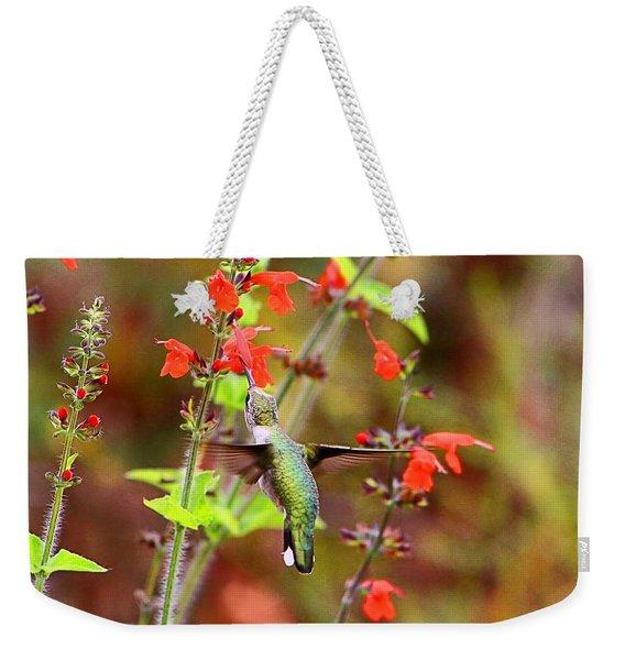 Hummer Female Rubythroat Weekender Tote Bag