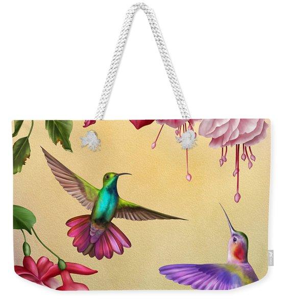 Humming Bird Welcome-jp2778 Weekender Tote Bag