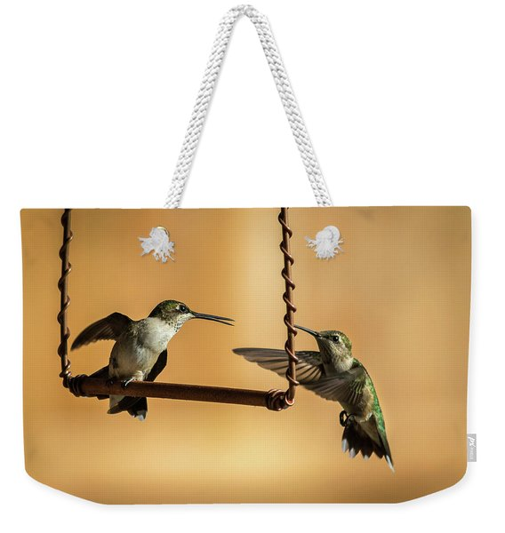 Humming Birds Weekender Tote Bag