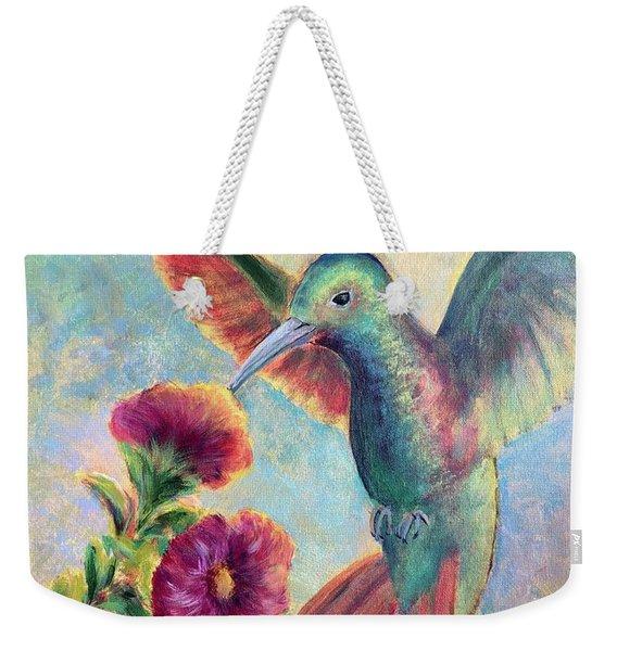 Humming Jewel Weekender Tote Bag