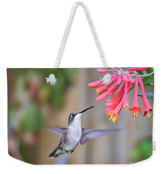 Hummingbird Happiness 2 Weekender Tote Bag