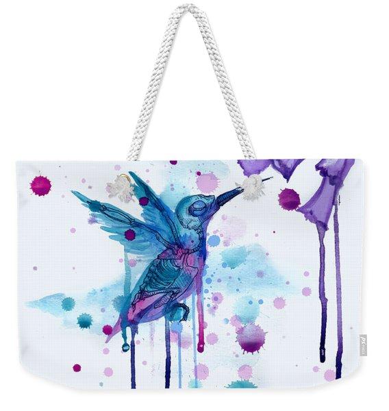Hummingbird Skeleton 2.0 Weekender Tote Bag