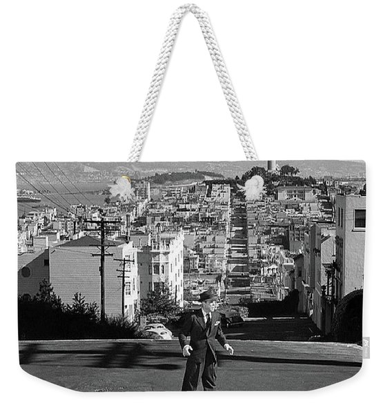 Humphrey Bogart Film Noir Dark Passage Telegraph Hill And Coit Tower San Francisco 1947 Weekender Tote Bag
