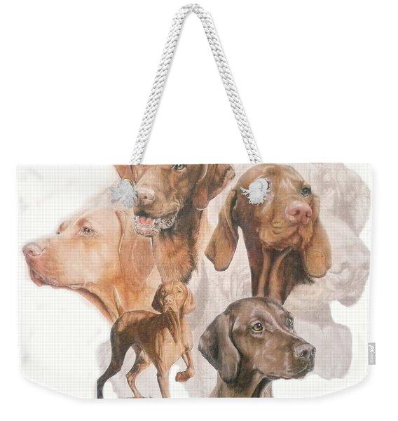 Hungarian Vizsla Medley Weekender Tote Bag