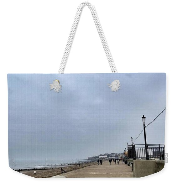 Hunstanton At 4pm Yesterday As The Weekender Tote Bag