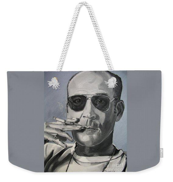 Hunter Thompson Weekender Tote Bag